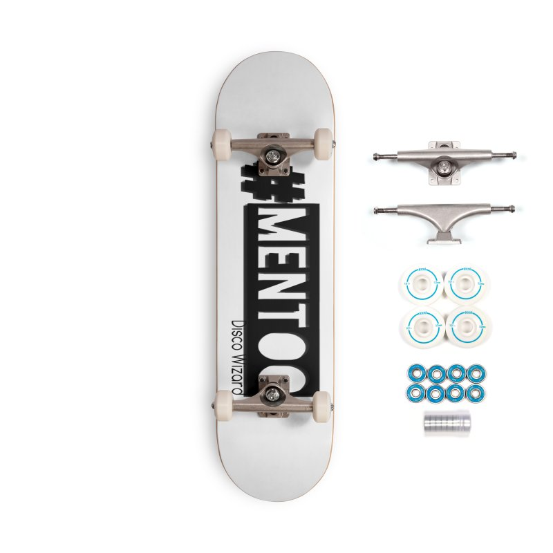 MenToo Disco Design Accessories Complete - Basic Skateboard by 30&3