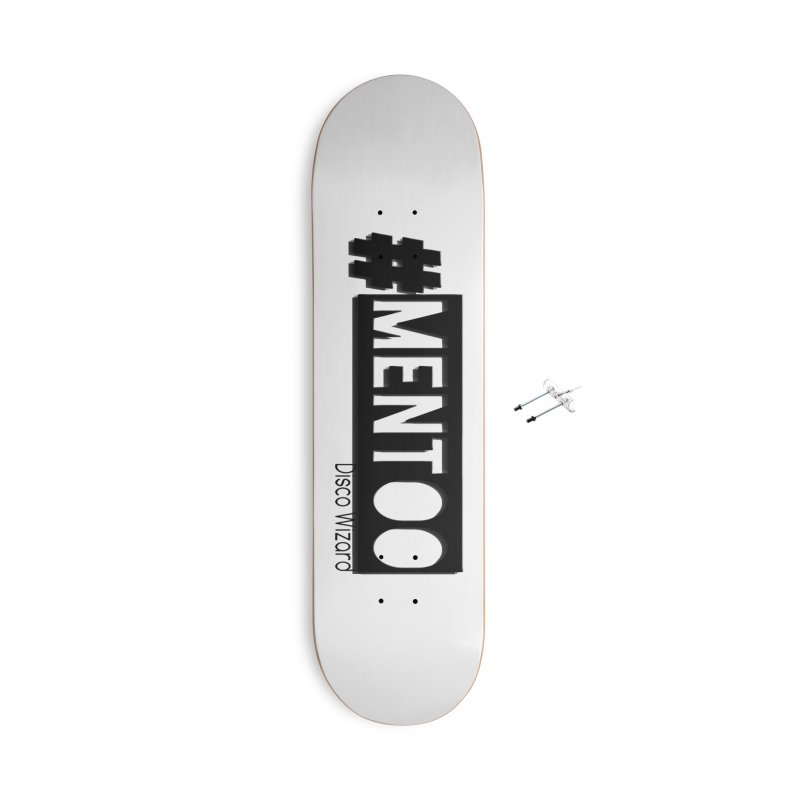 MenToo Disco Design Accessories With Hanging Hardware Skateboard by 30&3