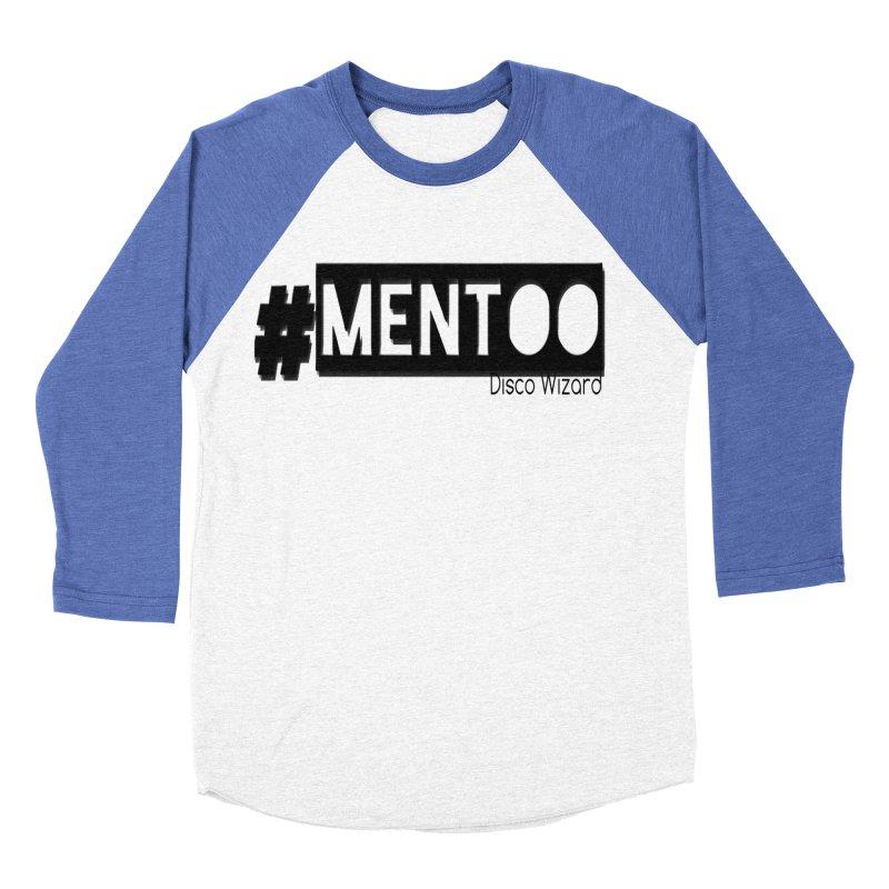 MenToo Disco Design Men's Baseball Triblend Longsleeve T-Shirt by 30&3