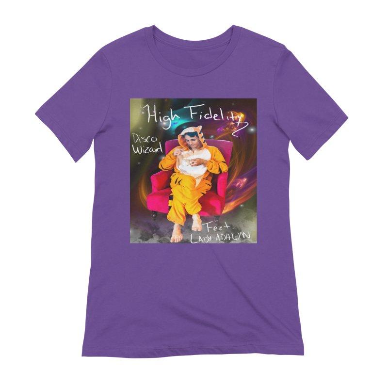 Disco Wizard Women's Extra Soft T-Shirt by 30&3