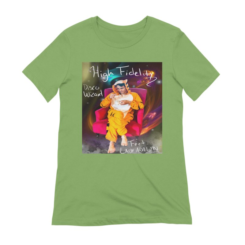 Disco Wizard Women's Extra Soft T-Shirt by 30&3