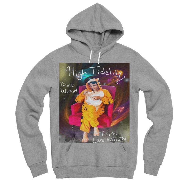 Disco Wizard Men's Sponge Fleece Pullover Hoody by 30&3