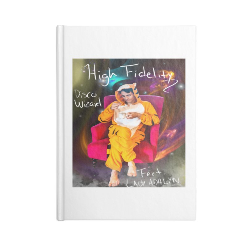 Disco Wizard Accessories Blank Journal Notebook by 30&3