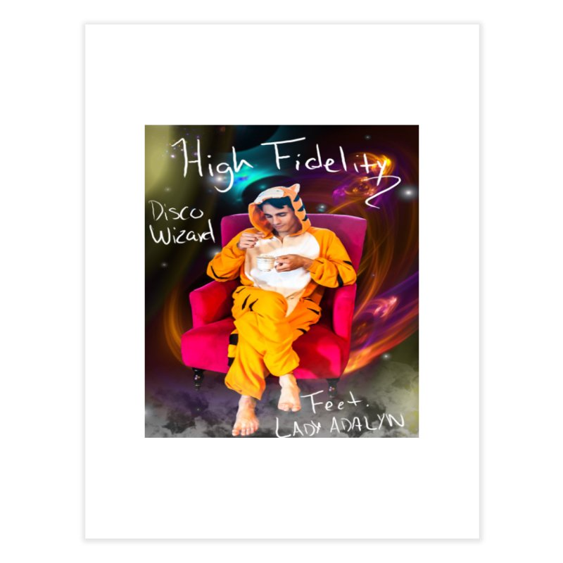 Disco Wizard Home Fine Art Print by 30&3