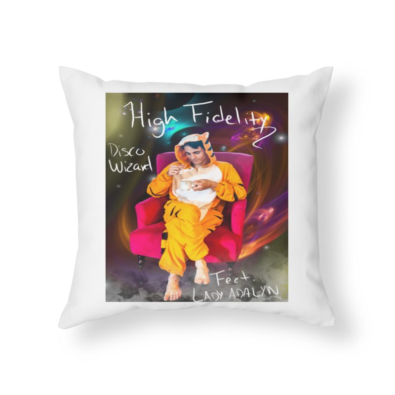Disco Wizard Home Throw Pillow by 30&3