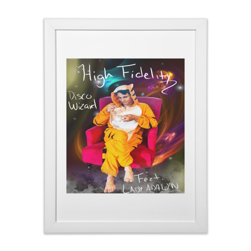 Disco Wizard Home Framed Fine Art Print by 30&3