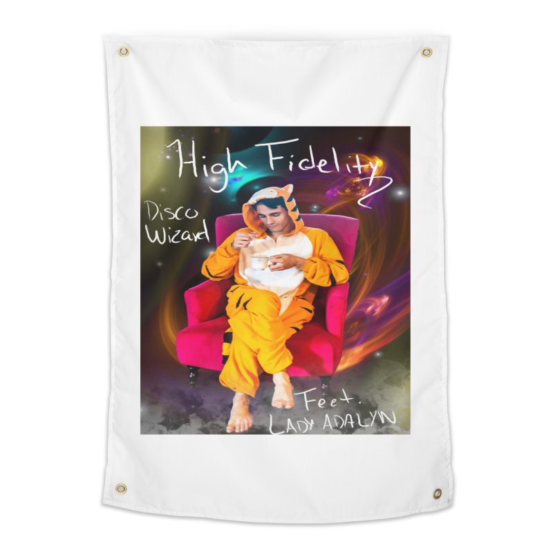 Disco Wizard Home Tapestry by 30&3