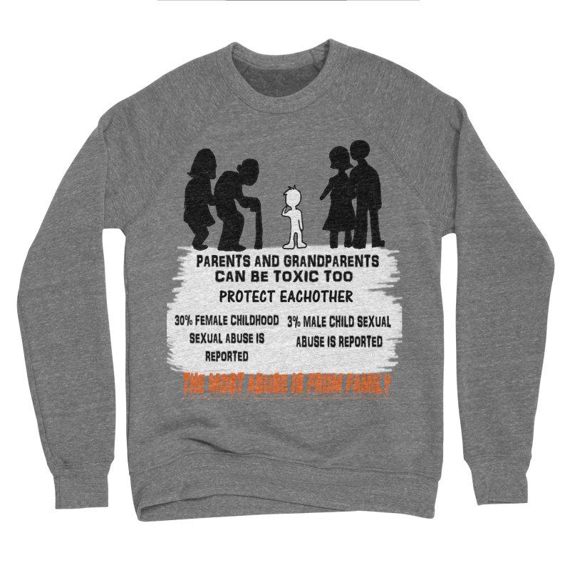 Toxic Parents Women's Sponge Fleece Sweatshirt by 30&3