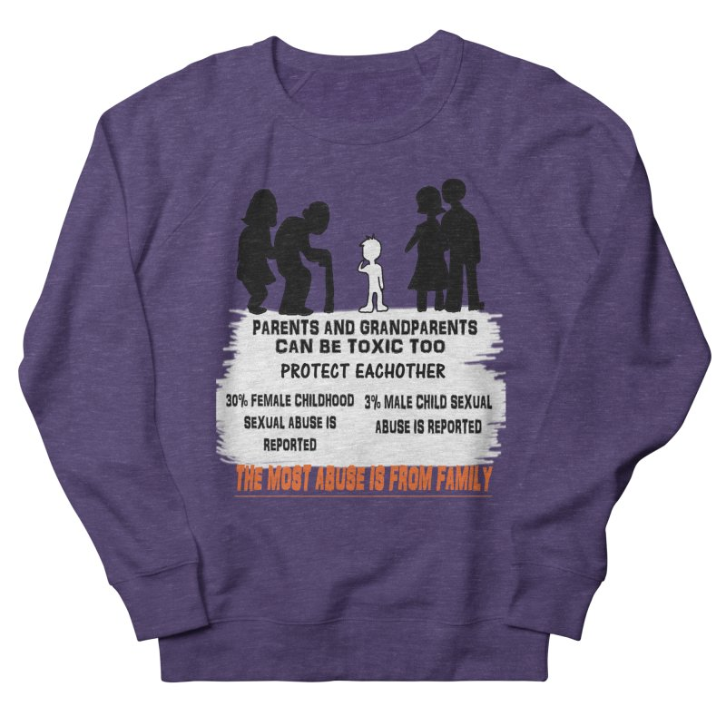 Toxic Parents Men's French Terry Sweatshirt by 30&3