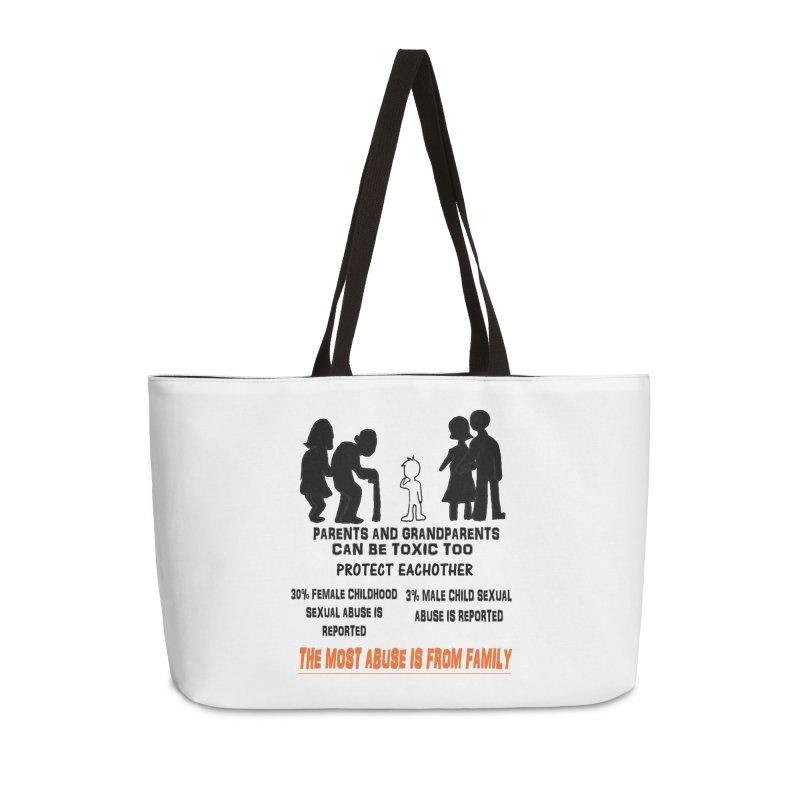 Toxic Parents Accessories Weekender Bag Bag by 30&3