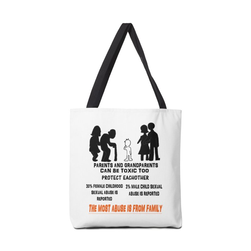 Toxic Parents Accessories Tote Bag Bag by 30&3