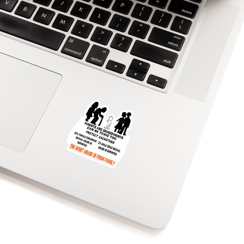 Toxic Parents Accessories Sticker by 30&3