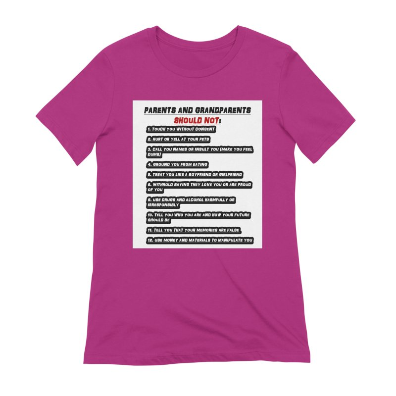 CONSENT OR ELSE Women's Extra Soft T-Shirt by 30&3