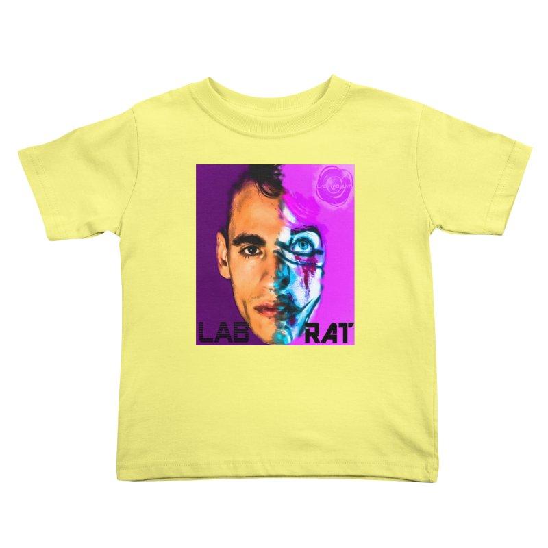 LAB RAT Kids Toddler T-Shirt by 30&3