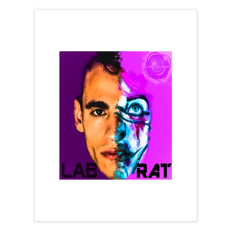 LAB RAT Home Fine Art Print by 30&3