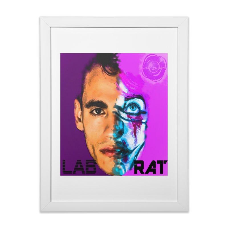 LAB RAT Home Framed Fine Art Print by 30&3