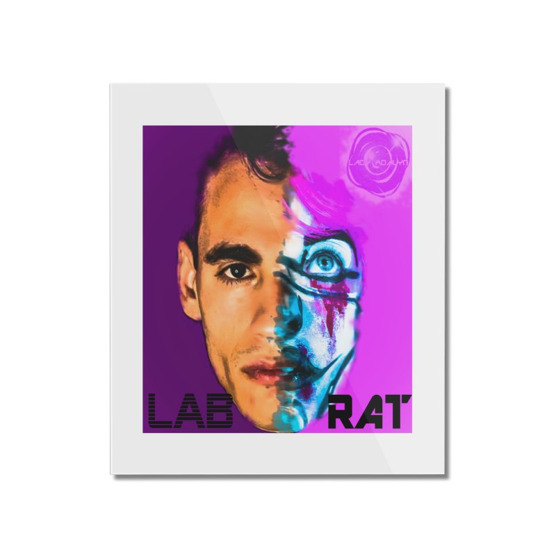 LAB RAT Home Mounted Acrylic Print by 30&3