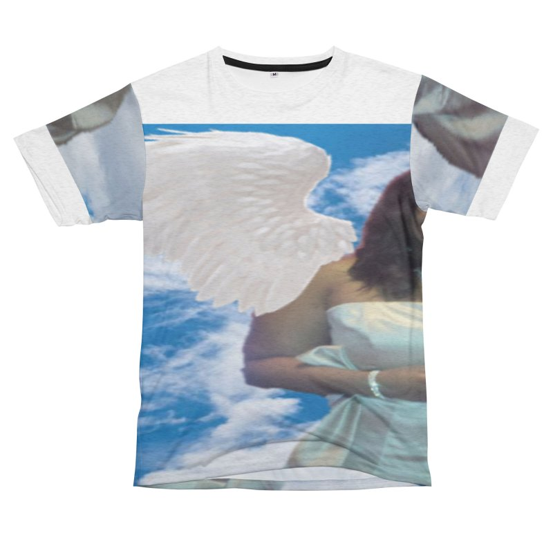 Rest in Heaven Mariah Women's Unisex French Terry T-Shirt Cut & Sew by Divinitium's Clothing and Apparel
