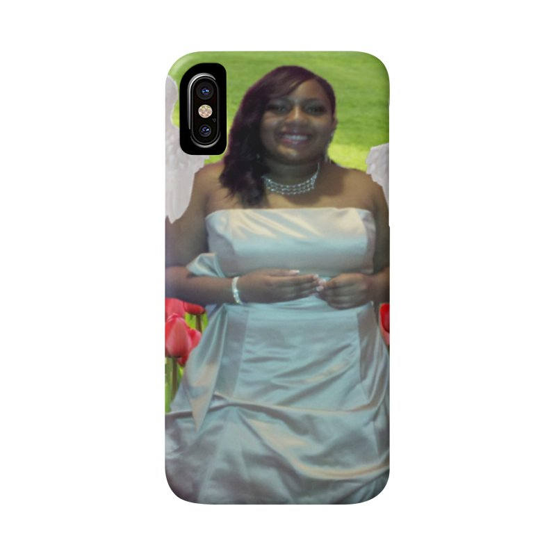 Rest in Heaven Mariah Accessories Phone Case by Divinitium's Clothing and Apparel
