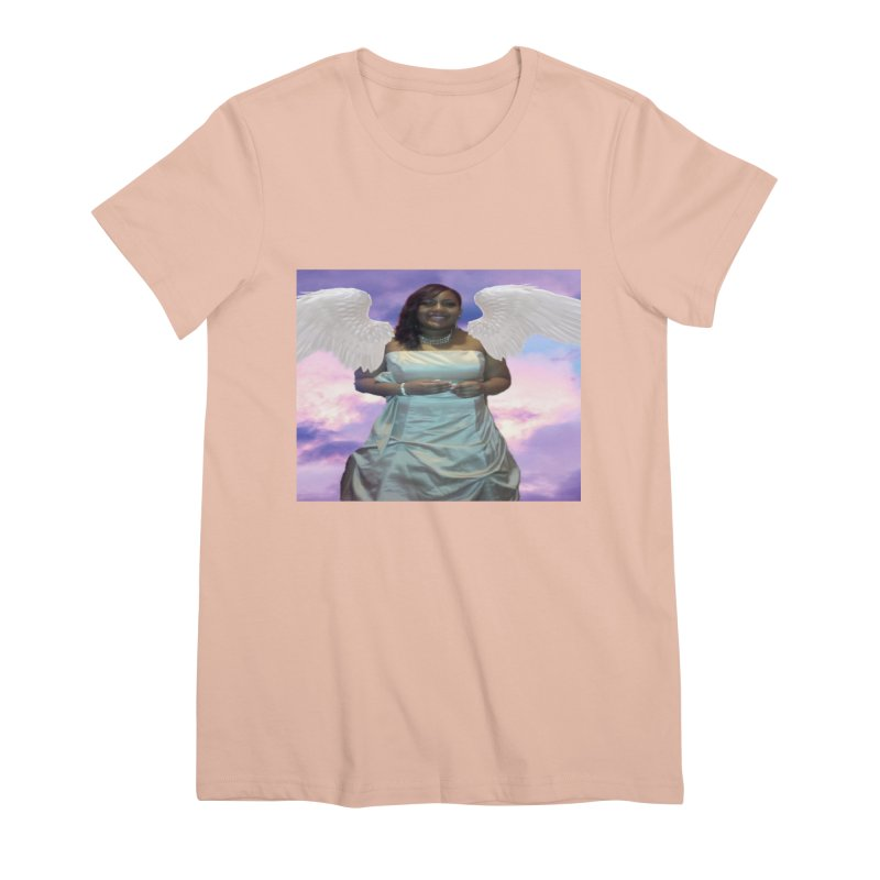 Rest in Heaven Mariah Women's Premium T-Shirt by Divinitium's Clothing and Apparel