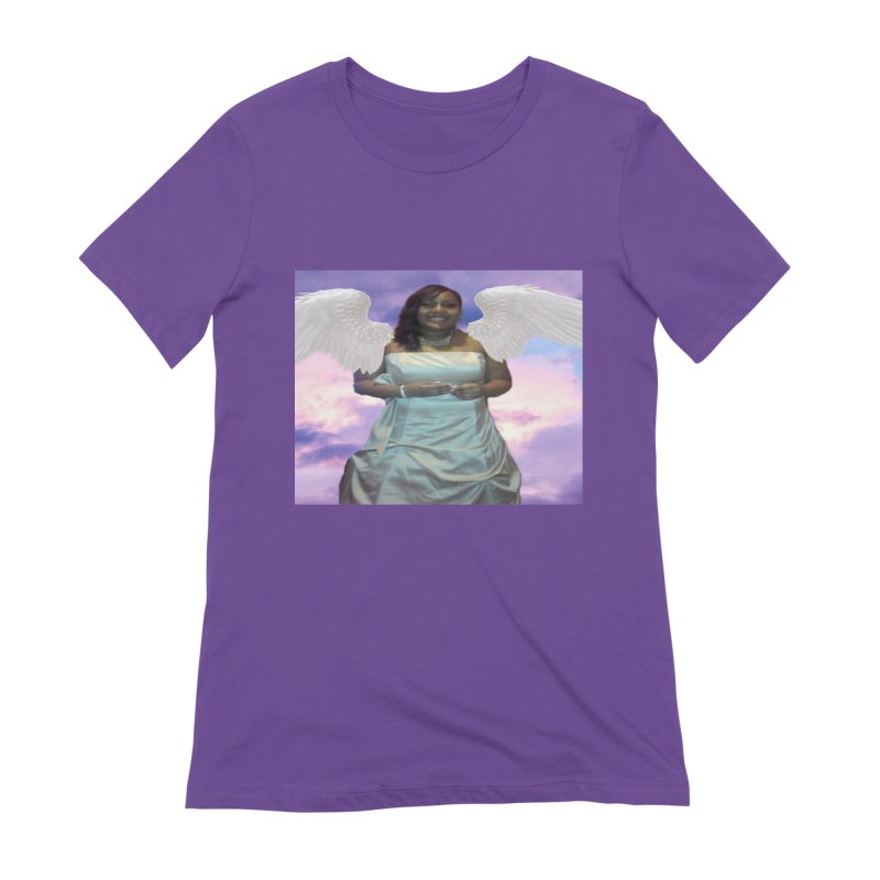 Rest in Heaven Mariah Women's Extra Soft T-Shirt by Divinitium's Clothing and Apparel