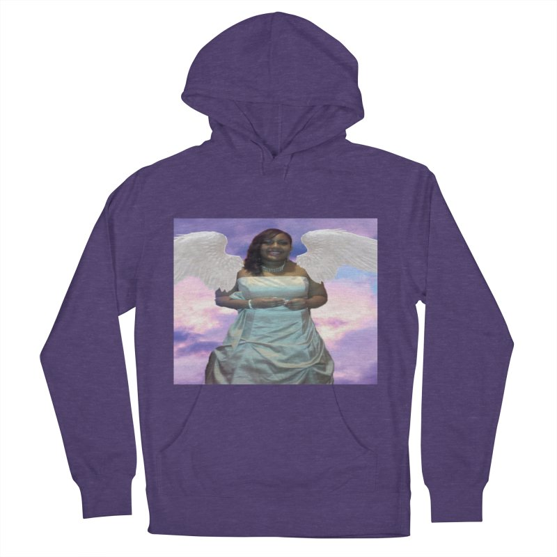 Rest in Heaven Mariah Women's French Terry Pullover Hoody by Divinitium's Clothing and Apparel