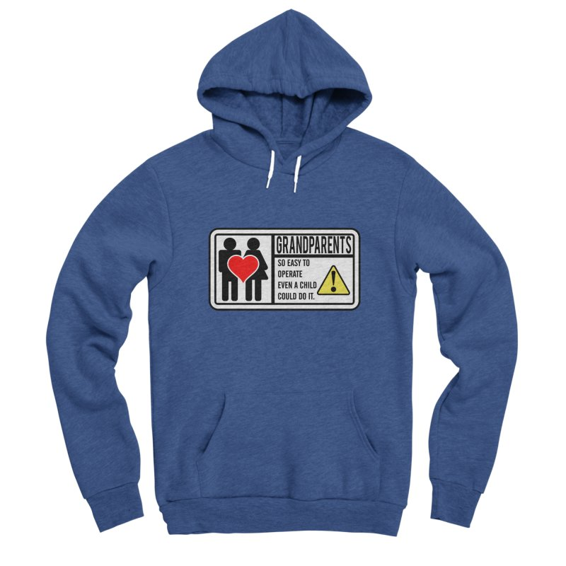 The Grandparents Women's Sponge Fleece Pullover Hoody by Divinitium's Clothing and Apparel