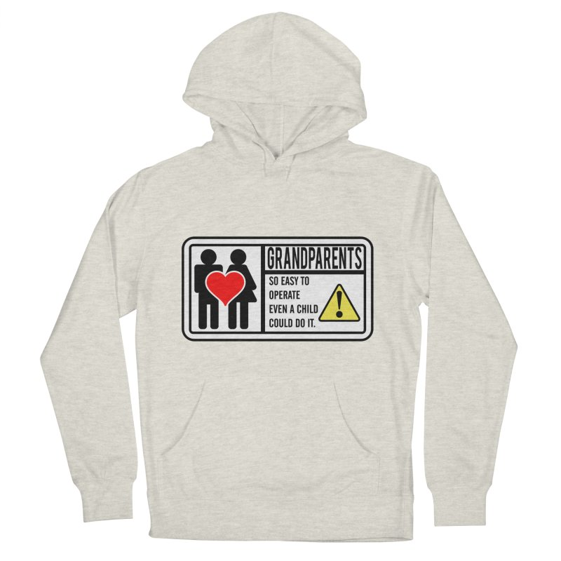The Grandparents Women's French Terry Pullover Hoody by Divinitium's Clothing and Apparel
