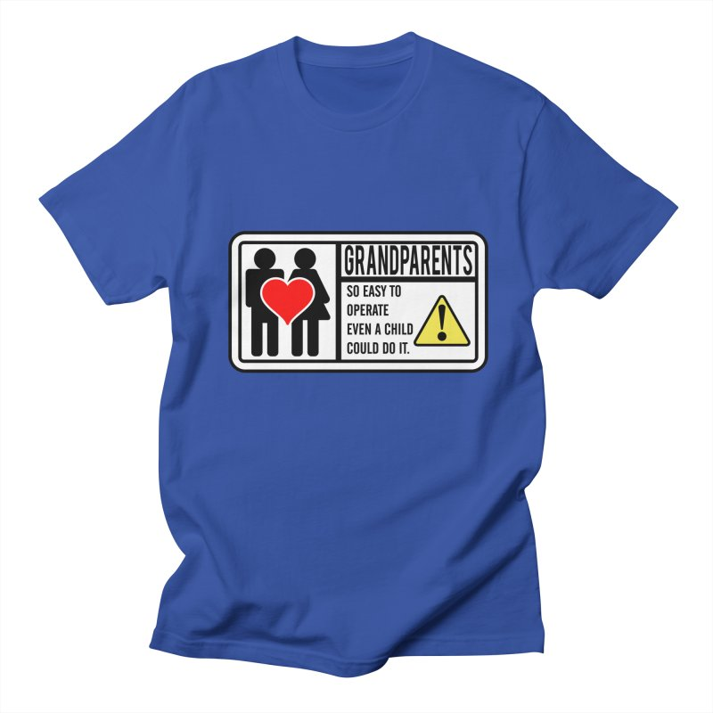The Grandparents Men's T-Shirt by Divinitium's Clothing and Apparel