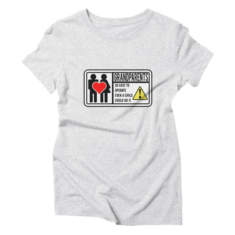 The Grandparents Women's T-Shirt by Divinitium's Clothing and Apparel