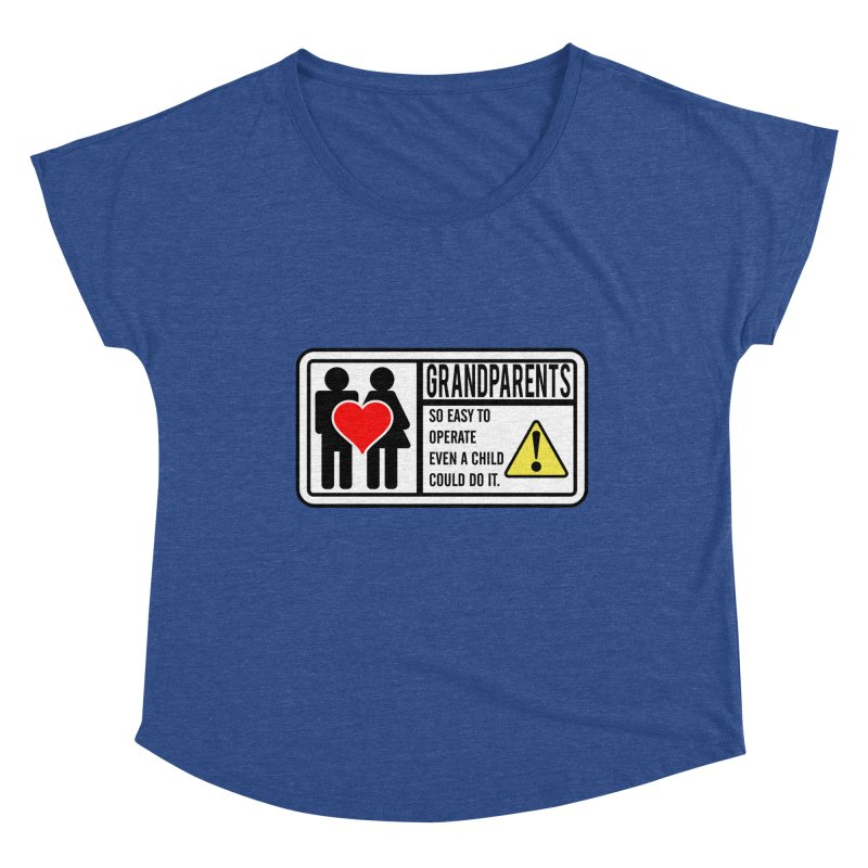 The Grandparents Women's Scoop Neck by Divinitium's Clothing and Apparel