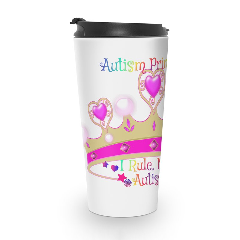 Autism Princess Accessories Mug by Divinitium's Clothing and Apparel