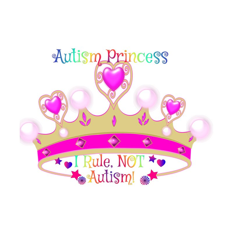 Autism Princess Women's Longsleeve T-Shirt by Divinitium's Clothing and Apparel