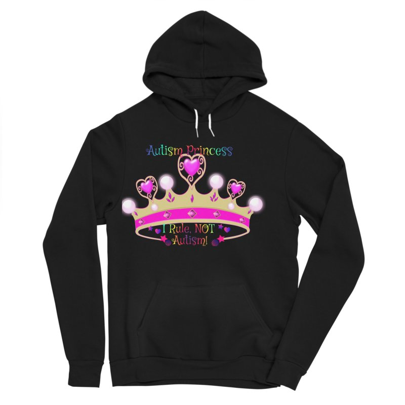 Autism Princess Women's Sponge Fleece Pullover Hoody by Divinitium's Clothing and Apparel