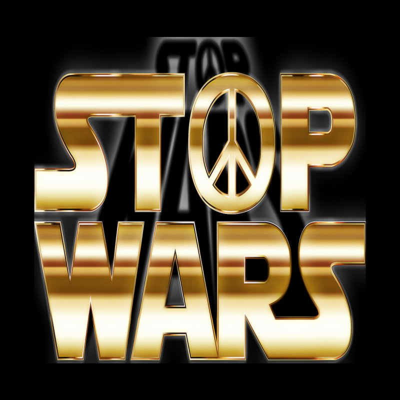Stop Wars Accessories Magnet by Divinitium's Clothing and Apparel