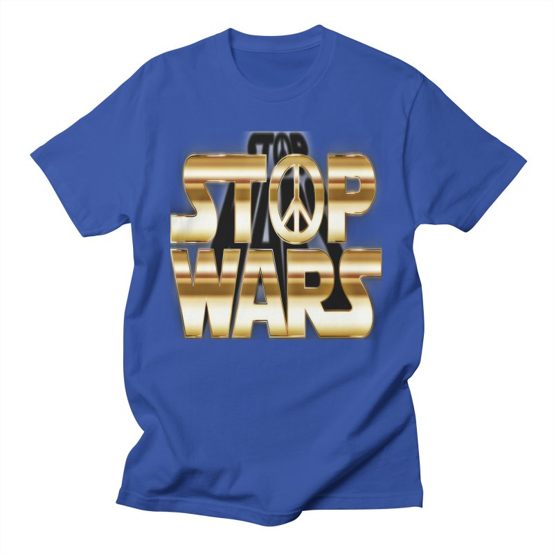 Stop Wars Men's T-Shirt by Divinitium's Clothing and Apparel