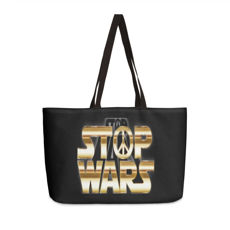 Stop Wars Accessories Bag by Divinitium's Clothing and Apparel