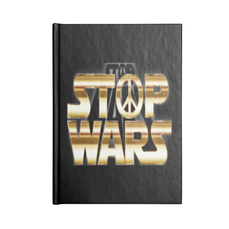 Stop Wars Accessories Notebook by Divinitium's Clothing and Apparel