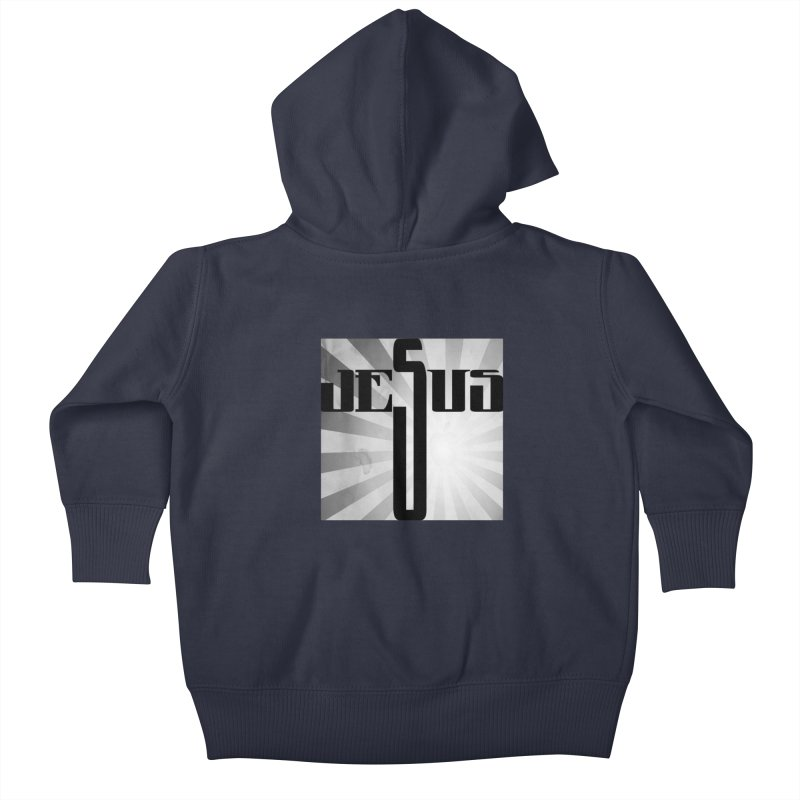 Jesus Kids Baby Zip-Up Hoody by Divinitium's Clothing and Apparel