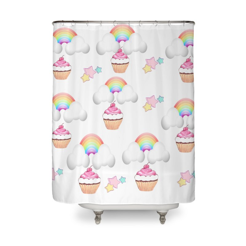 Delightful Home Shower Curtain by Divinitium's Clothing and Apparel