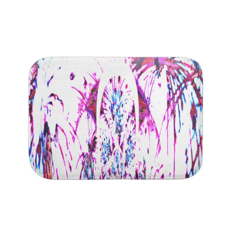 Night Lilly Home Bath Mat by Divinitium's Clothing and Apparel
