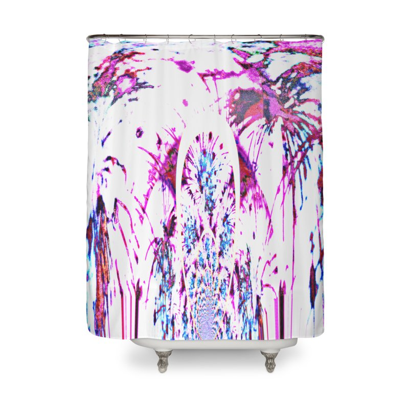 Night Lilly Home Shower Curtain by Divinitium's Clothing and Apparel