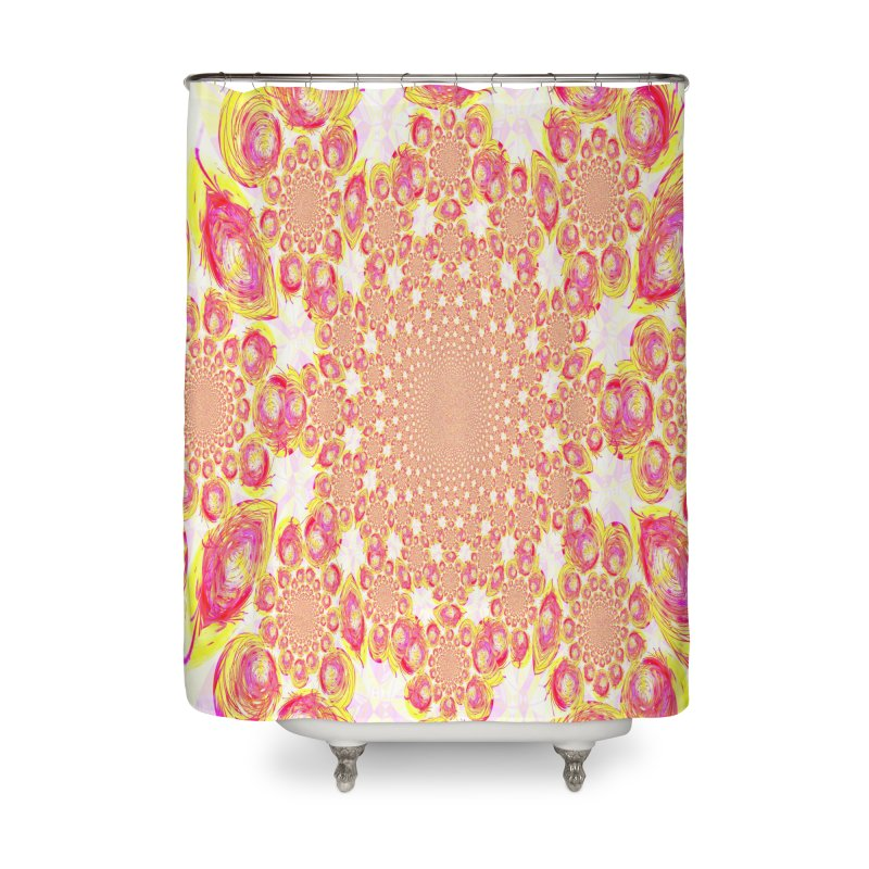 The Birth Of Stars Home Shower Curtain by Divinitium's Clothing and Apparel