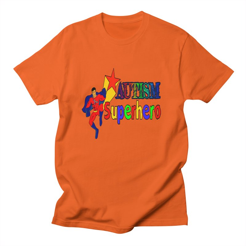 Autism Superhero Men's T-Shirt by Divinitium's Clothing and Apparel