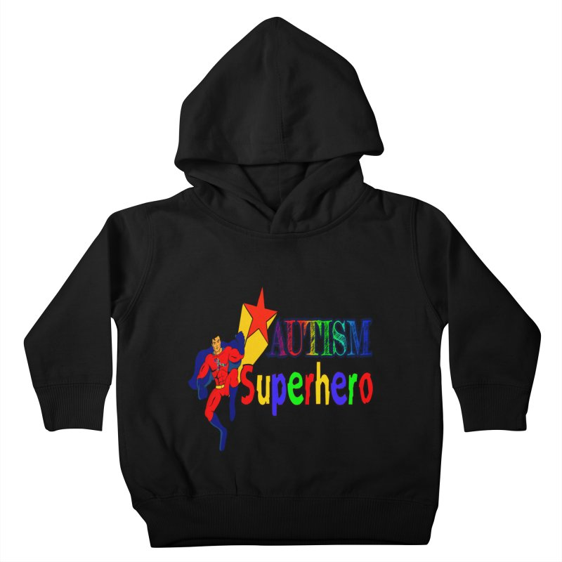 Autism Superhero Kids Toddler Pullover Hoody by Divinitium's Clothing and Apparel