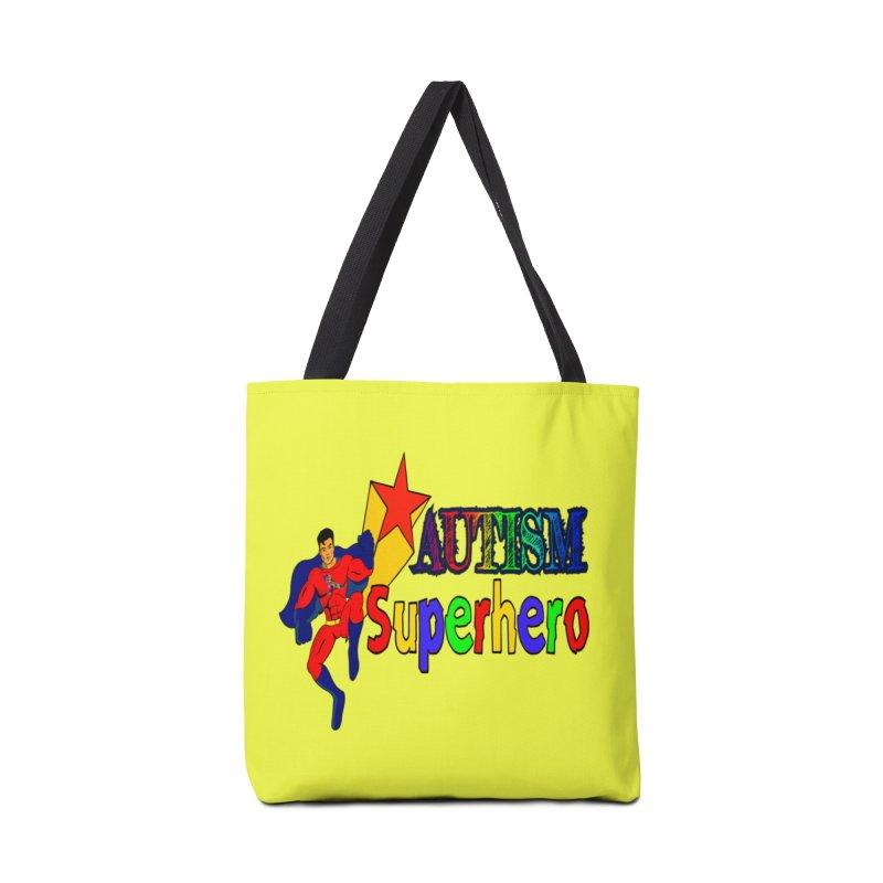 Autism Superhero Accessories Bag by Divinitium's Clothing and Apparel