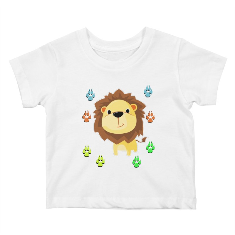 Purrrfect Cuddles Kids Baby T-Shirt by Divinitium's Clothing and Apparel