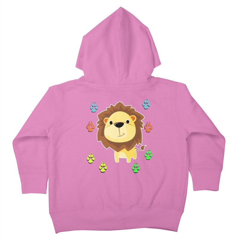Purrrfect Cuddles Kids Toddler Zip-Up Hoody by Divinitium's Clothing and Apparel