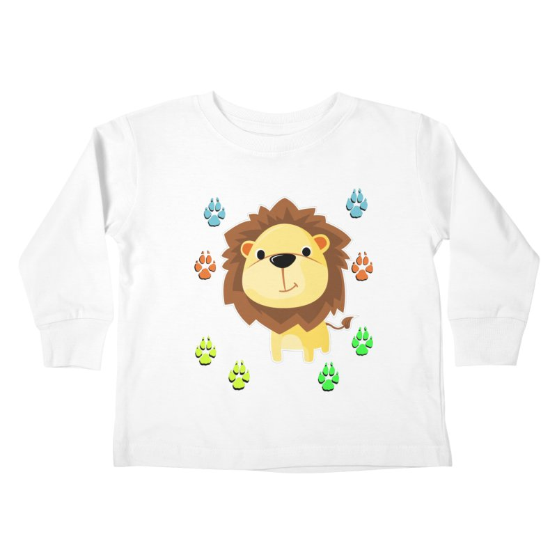 Purrrfect Cuddles Kids Toddler Longsleeve T-Shirt by Divinitium's Clothing and Apparel