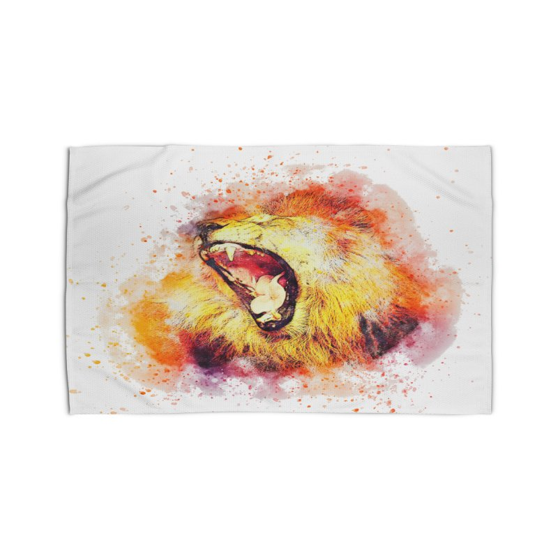 Let Them Hear You Roar Home Rug by Divinitium's Clothing and Apparel